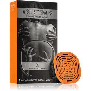 Mr & Mrs Fragrance Secret Spaces X. náplň do aroma difuzérů kapsle