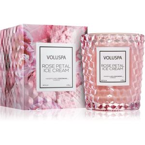 VOLUSPA Roses Rose Petal Ice Cream vonná svíčka 184 g