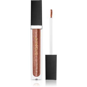 Sigma Beauty Untamed Lip Gloss lesk na rty se třpytkami odstín Dazzling 4,8 g