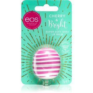 EOS Super Soft Shea hydratační balzám na rty příchuť Cherry & Bright 7 g