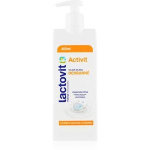 Lactovit Activit tělové mléko pro ochranu pokožky s pumpičkou 400 ml