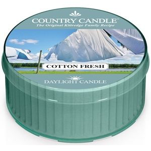 Country Candle Cotton Fresh čajová svíčka 42 g