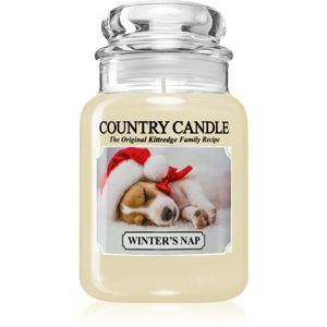 Country Candle Winter's Nap vonná svíčka 652 g