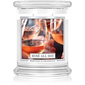 Kringle Candle Rosé All Day vonná svíčka 411 g