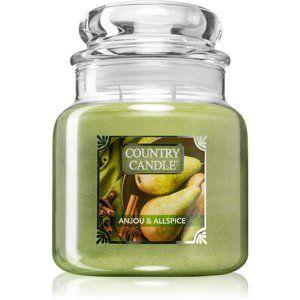 Country Candle Anjou & Allspice vonná svíčka 453 g střední