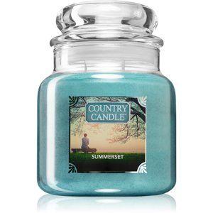 Country Candle Summerset vonná svíčka 453 g střední