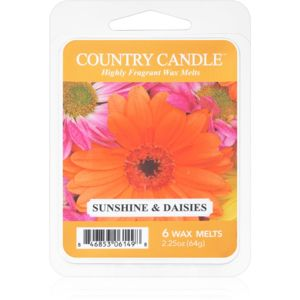 Country Candle Sunshine & Daisies vosk do aromalampy