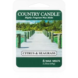 Country Candle Citrus & Seagrass vosk do aromalampy 64 g