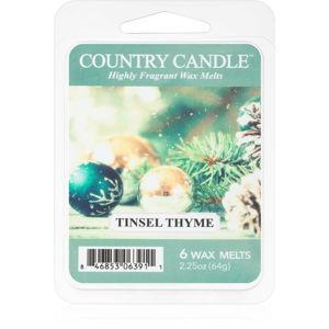 Country Candle Tinsel Thyme vosk do aromalampy 64 g