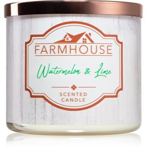 Kringle Candle Farmhouse Watermelon & Lime vonná svíčka 411 g