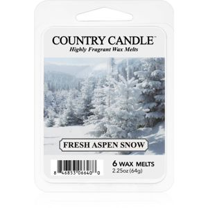 Country Candle Fresh Aspen Snow vosk do aromalampy 64 g