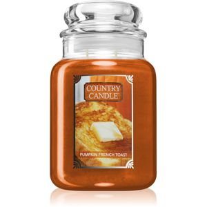 Country Candle Pumpkin & French Toast vonná svíčka 680 g