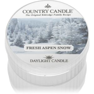 Country Candle Fresh Aspen Snow čajová svíčka 42 g