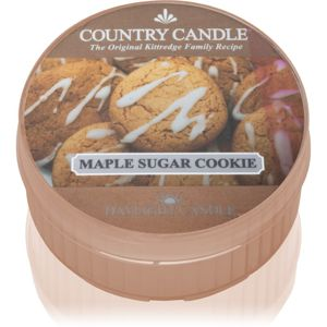 Country Candle Maple Sugar & Cookie čajová svíčka 42 g
