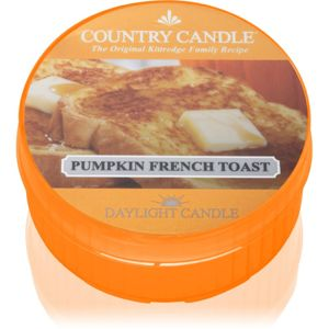Country Candle Pumpkin & French Toast čajová svíčka 42 g