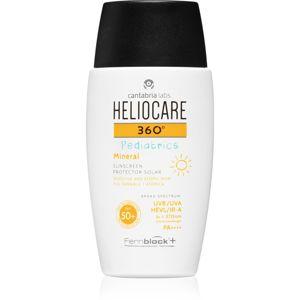 Heliocare 360° Pediatrics fluidní minerální krém na opalování SPF 50+ 200 ml