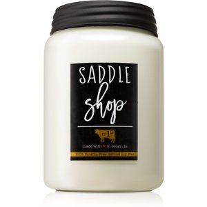 Milkhouse Candle Co. Farmhouse Saddle Shop vonná svíčka 737 g Mason Ja