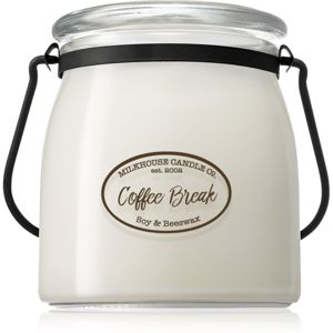 Milkhouse Candle Co. Creamery Coffee Break vonná svíčka Butter Jar 454 g