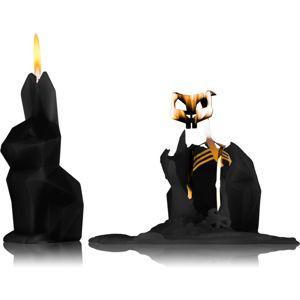54 Celsius PyroPet HOPPA (Bunny) dekorativní svíčka Black I. 17 cm