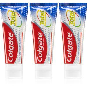 Colgate Total Whitening bělicí zubní pasta 3 x 75 ml
