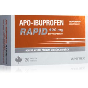 Apo-Ibuprofen Apo-Ibuprofen Rapid 400 mg 20 ks