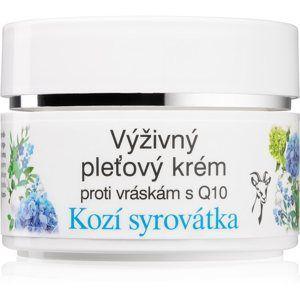 Bione Cosmetics Kozí Syrovátka pleťový krém proti vráskám s koenzymem Q10