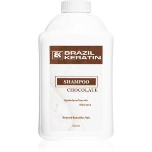 Brazil Keratin Chocolate šampon pro poškozené vlasy 500 ml