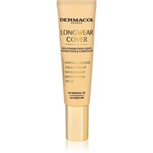 Dermacol Longwear Cover fluidní make-up SPF 15 odstín Bronze 30 ml