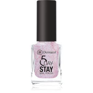 Dermacol 5 Day Stay dlouhotrvající lak na nehty odstín 47 Sparkle 11 ml