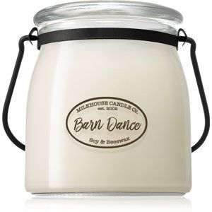 Milkhouse Candle Co. Creamery Barn Dance vonná svíčka 454 g Butter Jar