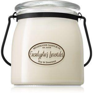 Milkhouse Candle Co. Creamery Eucalyptus Lavender vonná svíčka 454 g Butter Jar