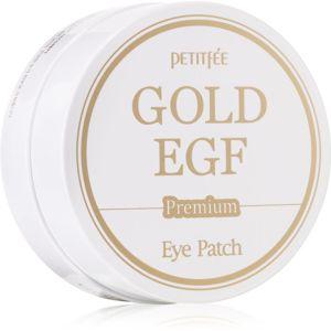 Petitfee Gold & EGF hydrogelová maska na oční okolí 60 ks