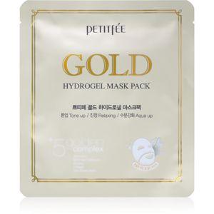 Petitfee Gold intenzivní hydrogelová maska s 24karátovým zlatem 32 g