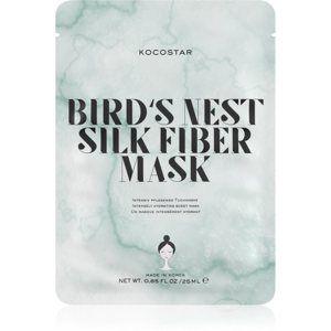 KOCOSTAR Bird's Nest Silk Fiber Mask plátýnková maska pro intenzivní hydrataci pleti