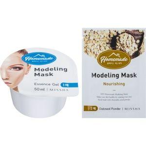 Missha Homemade Oatmeal Powder modelační pleťová maska s vyživujicím ú