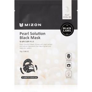 Mizon Pearl Solution rozjasňující plátýnková maska 25 g