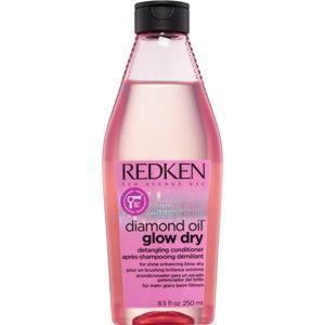 Redken Diamond Oil Glow Dry rozjasňující kondicionér pro lesk a snadné