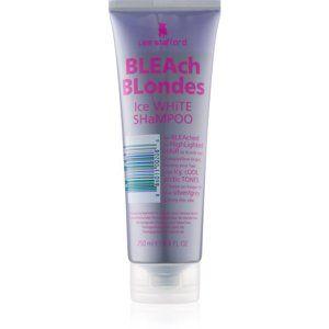 Lee Stafford Bleach Blondes stříbrný šampon neutralizující žluté tóny
