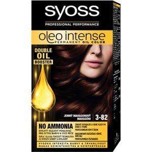 Syoss Oleo Intense permanentní barva na vlasy s olejem odstín 3-82 Subtle Mahogany