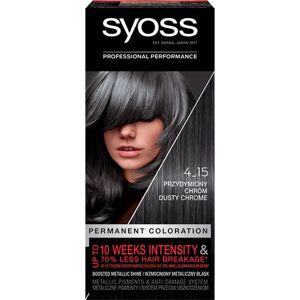 Syoss Permanent Coloration permanentní barva na vlasy odstín 4-15 Dusty Chrome