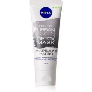 Nivea Urban Skin zmatňující slupovací maska