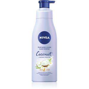 Nivea Coconut & Monoi Oil pečující tělové mléko s olejem