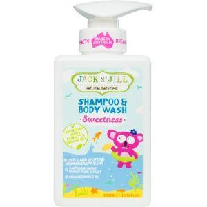 Jack N' Jill Sweetness jemný sprchový gel a šampon pro děti 2 v 1