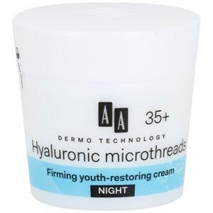 AA Cosmetics Dermo Technology Hyaluronic Microthreads omlazující a vyh