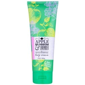 Bath & Body Works Apple Blossom & Lavender tělový krém pro ženy 226 g