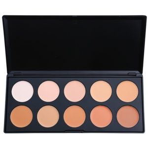 BHcosmetics 10 Color paleta korektorů a make-upu