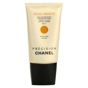 Chanel Précision Soleil Identité samoopalovací krém na obličej SPF 8 odstín Golden 50 ml
