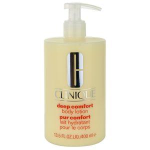 Clinique Deep Comfort hloubkově hydratační tělové mléko 400 ml