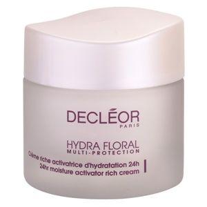 Decléor Hydra Floral bohatý hydratační krém pro normální a suchou pleť 50 ml