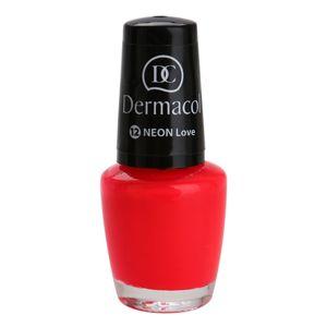 Dermacol Neon neonový lak na nehty odstín 12 Love 5 ml